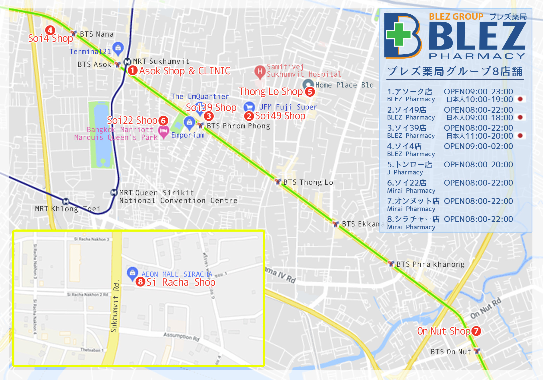 BLEZ Googlemap